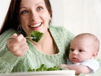 Alimentația mamei după naștere